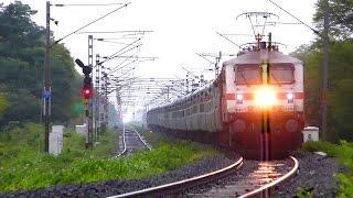 20 Railroad Videos In 10 Minutes  !! INDIAN RAILWAYS TRAINS !