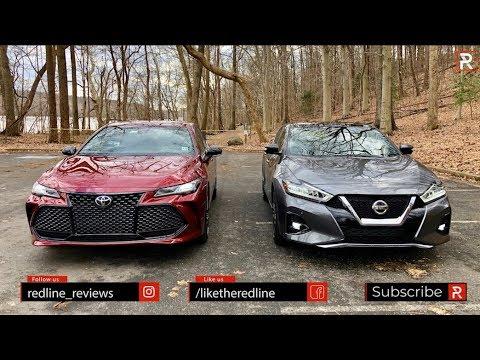2019 Toyota Avalon Vs Nissan Maxima – Which Big Sedan Is Better?