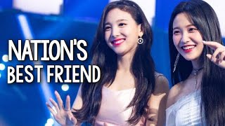 Nayeon being the Nation's BFF
