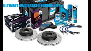 Unboxing the Ultimate 4WD Brake Upgrade Kit