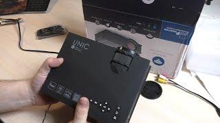 Отличный китайский LED проектор из Китая. UNIC UC46