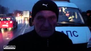 ZaRulem.ws: Chevrolet Niva залетела под МАЗ