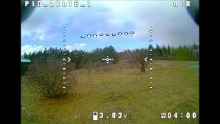 My very first FPV experience (ACRO MODE)