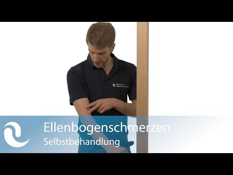 Verrenkte linke Ellenbogen