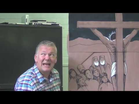 Children's Bible Talk - The Crucifixion of Jesus (Part 1)