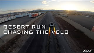 Desert Run - Chasing the Velo with the Atlas 5 Freestyle Drone (ft. BadCompany FPV)