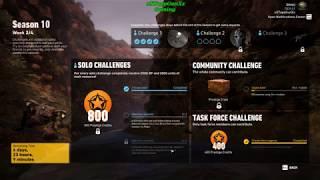 Season 10 Week 2 Solo Challenge 1 Completed - Ghost Recon Wildlands