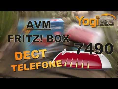 AVM FRITZ! Box 7490: Einrichtung eines DECT Schnurlos-Telefons (z.B. Gigaset)