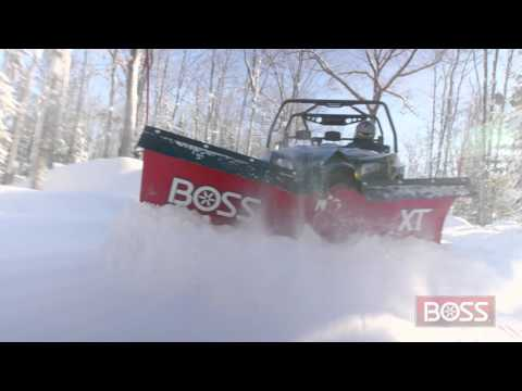 ATV and Mid Size Power-V XT| BOSS Snowplow