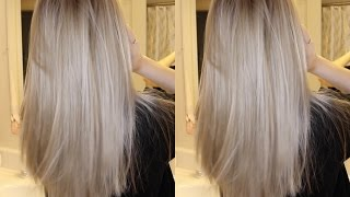 How To Tone Bry Blonde Hair Demo With Wella T18 T11