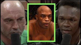 Israel Adesanya Reflects on Fighting Anderson Silva | Joe Rogan