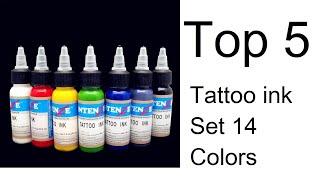 Top 5 Best Tattoo ink Set 14 Colors