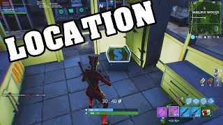 SEARCH THE LETTER S IN WAILING WOODS(Fortnite Battle Royale)