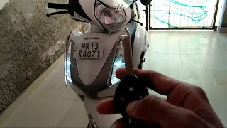 Anti theft security alarm for motorcycle and scooter |honda aviator | MR.AUTOMOBILER