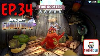 ANGRY BIRDS EVOLUTION - QIXI FESTIVAL&PYROMANIAC! - FIRE ROOSTER (5 STARS RED) HATCHING PREMIUM EGGS