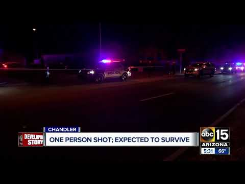 Person shot in Chandler expected to survive