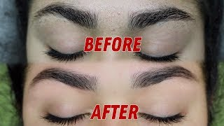 HOW TO GROOM/SHAPE YOUR EYEBROWS JUST LIKE A PROFESSIONAL