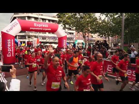 Carrera Sant Adrià de Besòs La Sansi 2018 salida 5 y 10km