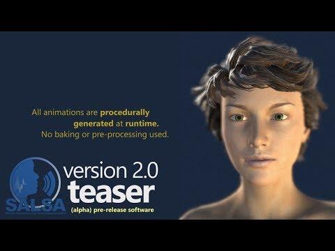 SALSA LipSync 2 0 Pre-Release Technology Preview