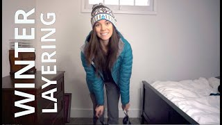 Winter Hike Clothing | How I Layer