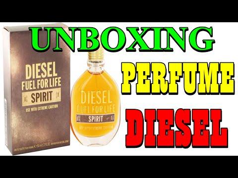 Unboxing Perfume Diesel Fuel For Life Spirit 30ml Sephora (PT-BR) HD