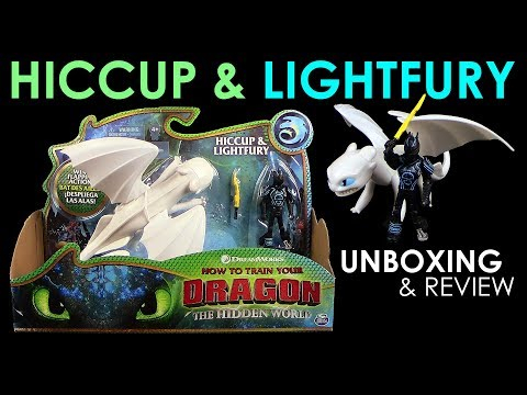 Dragons 3 - Hiccup & Lightfury / Hicks &Tagschatten Playset !!! NEU !!! Unboxing & Review