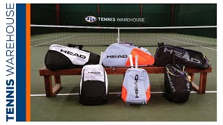 A Closer Look at the 2021 HEAD Tennis Bag Line of Bags (from 12 Packs to Backpacks!)