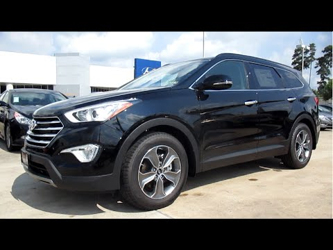 2014 hyundai santa fe gls full review. Black Bedroom Furniture Sets. Home Design Ideas