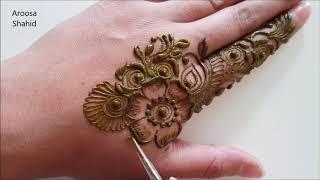 Delicate Henna Mehndi Design