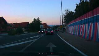 preview picture of video 'Přes Sinj/ Through Sinj - Chorvatsko 2012'