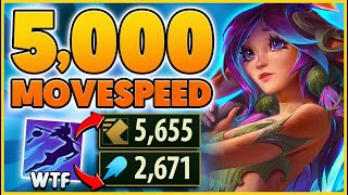 LILLIAS NEW ABILITY BREAKS THE GAME.. 5,000+ MOVESPEED!!!! - BunnyFuFuu | League of Legends