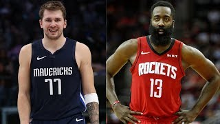 Luka Doncic (41 PTS, 6 REB, 10 AST) vs. James Harden (32 PTS, 9 REB, 11 AST) Battle in MVP Showcase