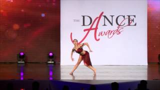 "Simrin Player (age 17), performing ""She Lives"" at The Dance Awards 2016"
