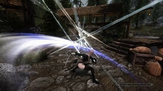 Skyrim mod: Rigmor of Cyrodiil #30 Lightning, Fire and Blood