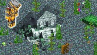 Minecraft DISCOVERING A STRUCTURE UNDER WATER IN MINECRAFT !! Minecraft Mods