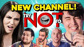 Try Not To Subscribe To The New Try Not To Channel Challenge