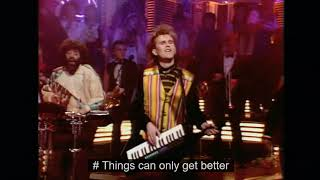 Howard Jones - Things Can Only Get Better (with Lyrics)
