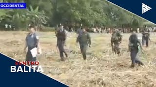 AFP At PNP, Nagpunta Sa Massacre Site Ng 'Sagay 9'