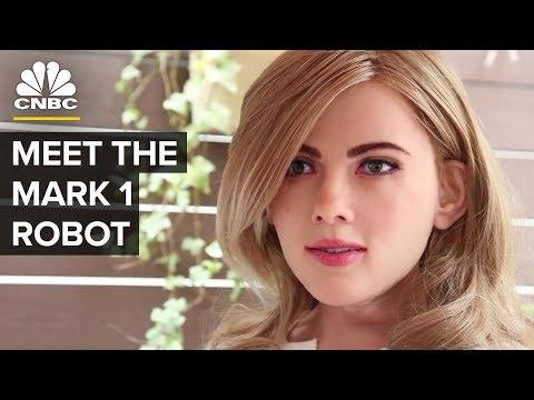 Meet Life-Sized Humanoid Robot Mark 1   CNBC