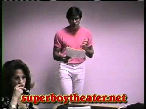 Gerard Christopher's Clark Kent screen test for SUPERBOY, THE TV SERIES (1989).