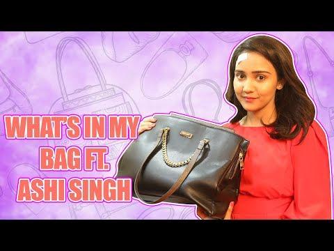 What's in my Bag ft  Ashi Singh  Yeh Unn Dinon Ki Baat Hai