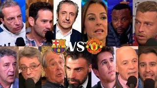 ASÍ VIVIMOS El Barça 3-0 Manchester United Con El Chiringuito | VUELTA CUARTOS CHAMPIONS