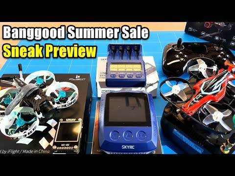 Banggood Summer Sale Rc Toys Sneak Peek DIY Rc Reviews