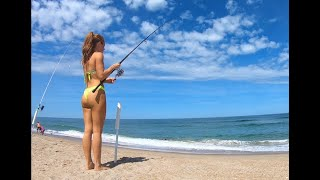 The Point: Outer Banks surf fishing beach day *adventure vlog*