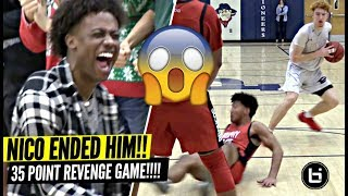 Nico Mannion NASTIEST ANKLE BREAKER OF THE YEAR!? Gets REVENGE vs Team That Beat Them Last Year!