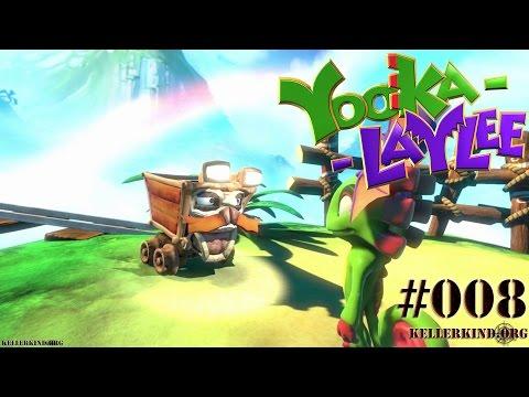 YOOKA-LAYLEE #8 – Kartos Minenkartrennen ★ Speedy plays Yooka-Laylee [HD|60FPS]
