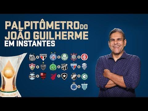 PALPITÔMETRO DO JOÃO GUILHERME! Palpites para a 33° rodada do Campeonato Brasileiro