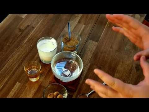 Zubereitung von Irish Coffee