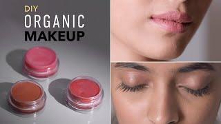 DIY Organic Makeup | Mascara & Lipstick