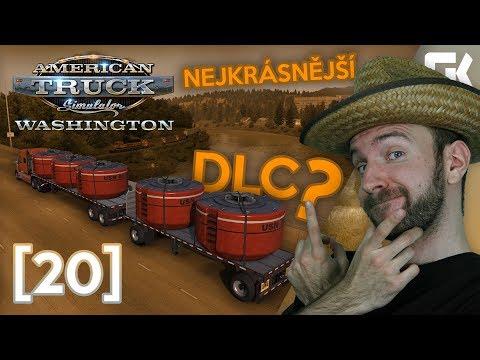 NEJKRÁSNĚJŠÍ DLC? ANEB WASHINGTON DLC! | American Truck Simulator #20